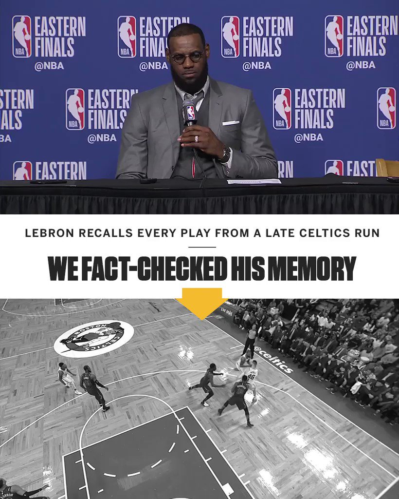 LeBron James' photographic memory: �� https://t.co/IALy2gQeFC
