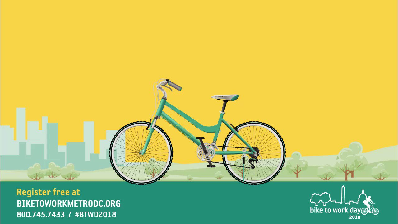 Reloaded twaddle – RT @BikeToWorkDay: Join in and ride on Friday, May 18th for Bike to Work Day, sp...