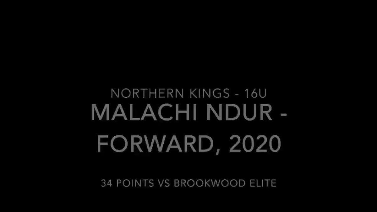6'7 2020 Forward Malachi Ndur put 34 large on Brookwood Elite this weekend enroute to a W! @therealmalachiN @Vi_Massiah