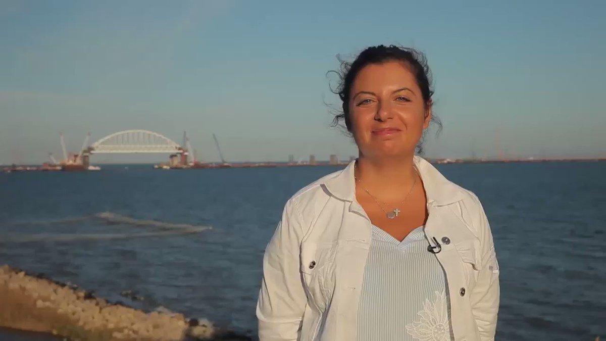 Маргарита Симоньян: Вот, что я для вас записала год назад про Крымский мост