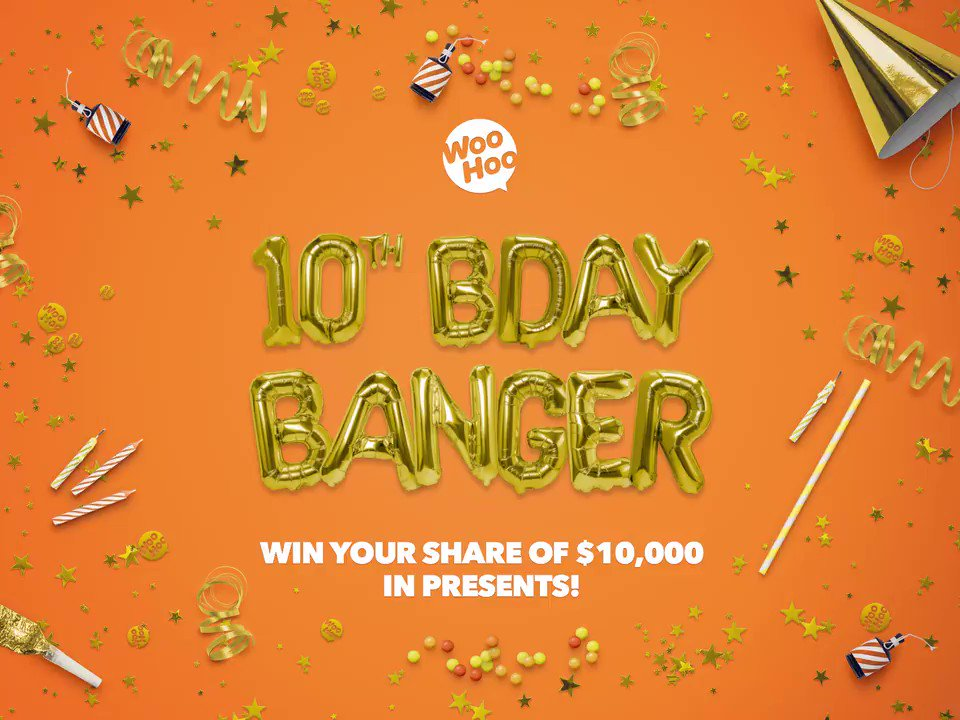 We're celebrating turning 10 by giving away 10 presents worth $10,000! Apply for your 2018 tax refund by 10 June and you're in to win. We'll reveal a new prize every week for four weeks. Prize #1 is the latest smartphone https://bit.ly/2wK5Qiv