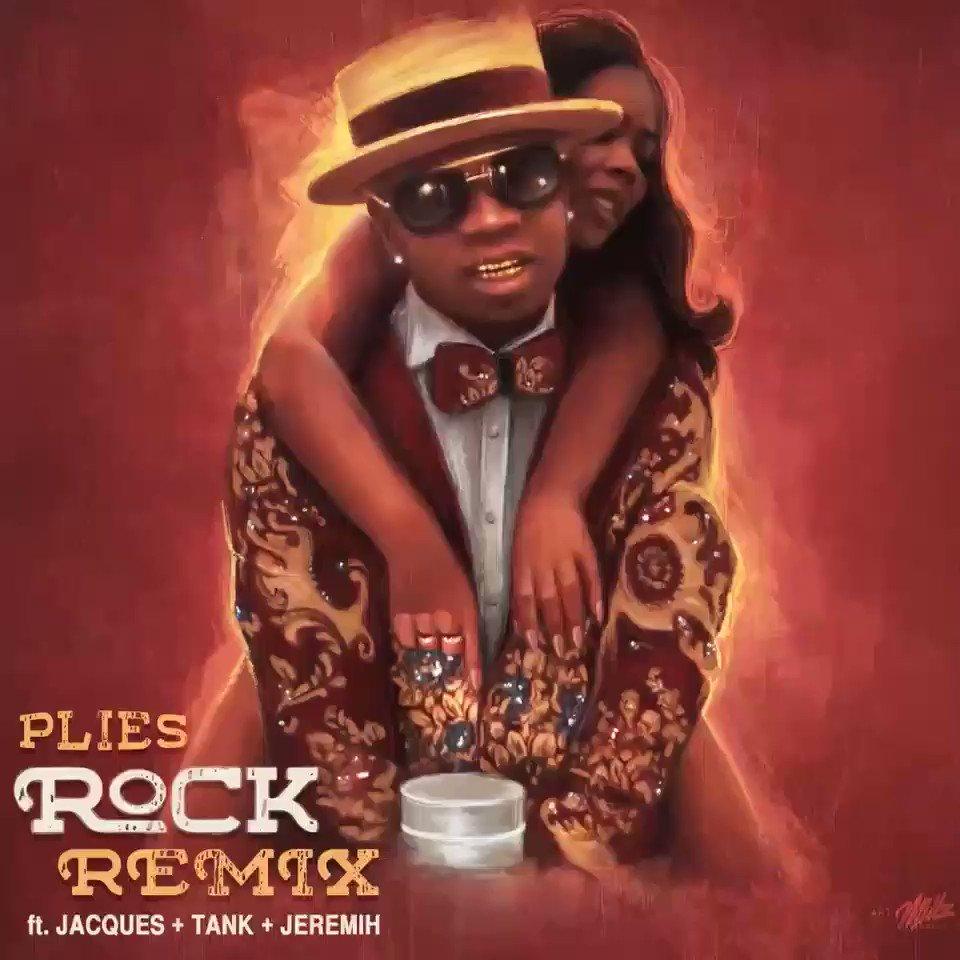 ゚リᄈ゚リᄈ (R&B EDITION)゚ヤᆬ゚ヤᆬ゚ヤᆬ @Plies 'Rock' (Remix) Ft @Jacquees @TheRealTank & @Jeremih https://t.co/64GIg69wRr ゚リペリペリペヤᆬ゚ヤᆬ゚ヤᆬ https://t.co/u2tA1ZoSSf