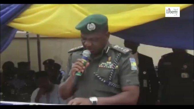 TRENDING VIDEO: 'I mean, transmission transmission' — IG of police struggles to read speech