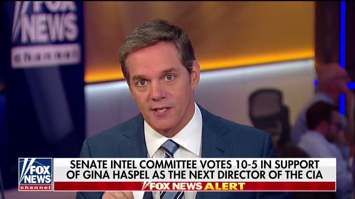 Senate Intel committee Votes 10-5 in Support of Gina Haspel as the Next Director of the CIA https://t.co/nJWzFDuhzB