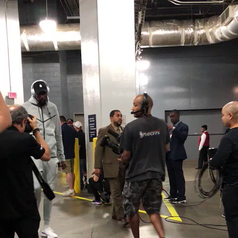 Game 1: 37 points. @KDTrey5 has arrived. #DubNation https://t.co/pPdJaILRAc