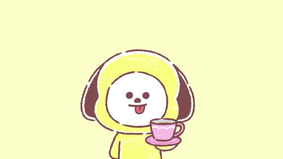 A cup of love, coming right up☕�� #CHIMMY #BT21 https://t.co/DccHjdF8bu