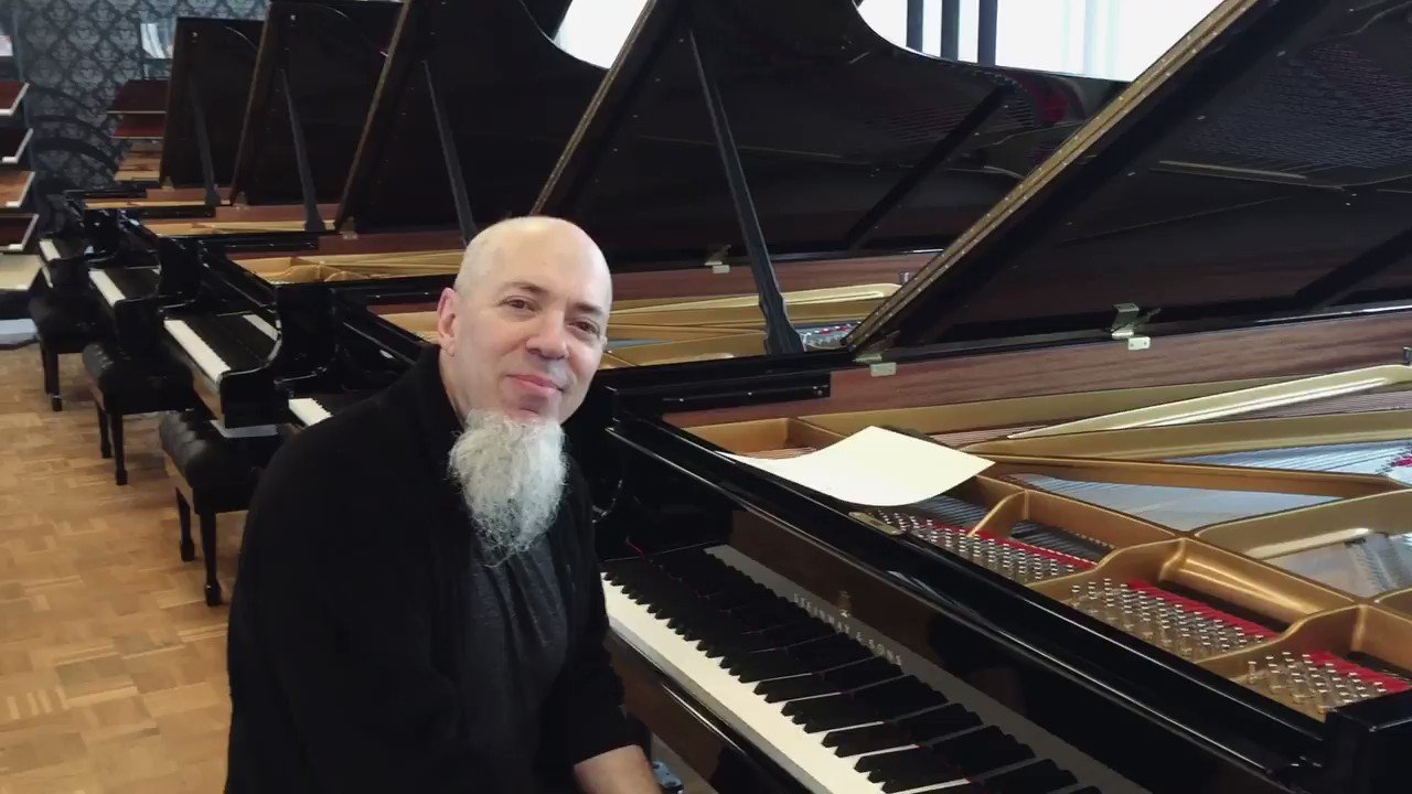 Reloaded twaddle – RT @SteinwayAndSons: Steinway Artist @Jcrudess from the band @dreamtheaternet sh...