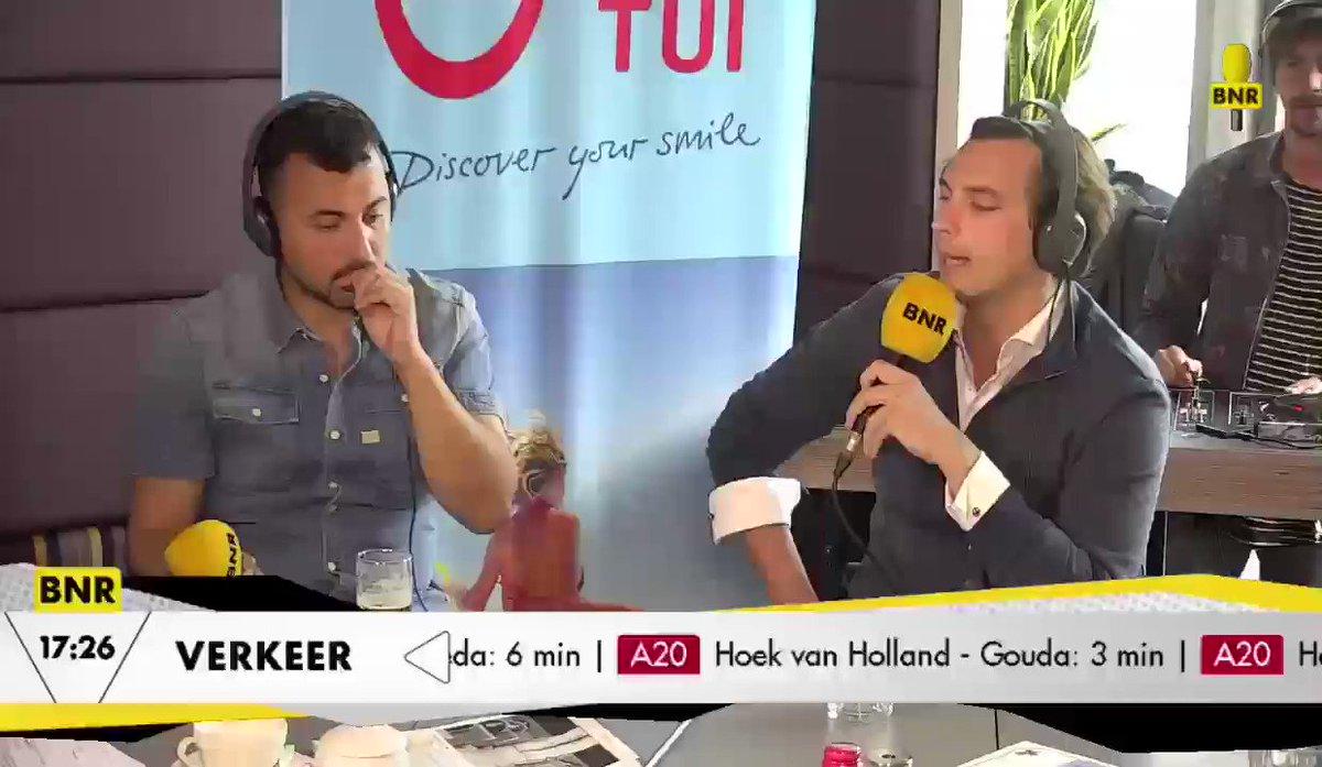 Thierry Baudet loopt boos weg na interview met Wilfred Genee op BNR