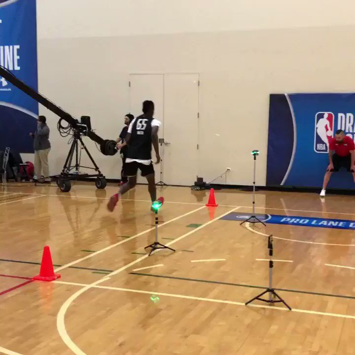 .@Chimezie_Metu (@USC_Hoops) working out at the #NBACombine powered by Under Armour.  📺: ESPN 2