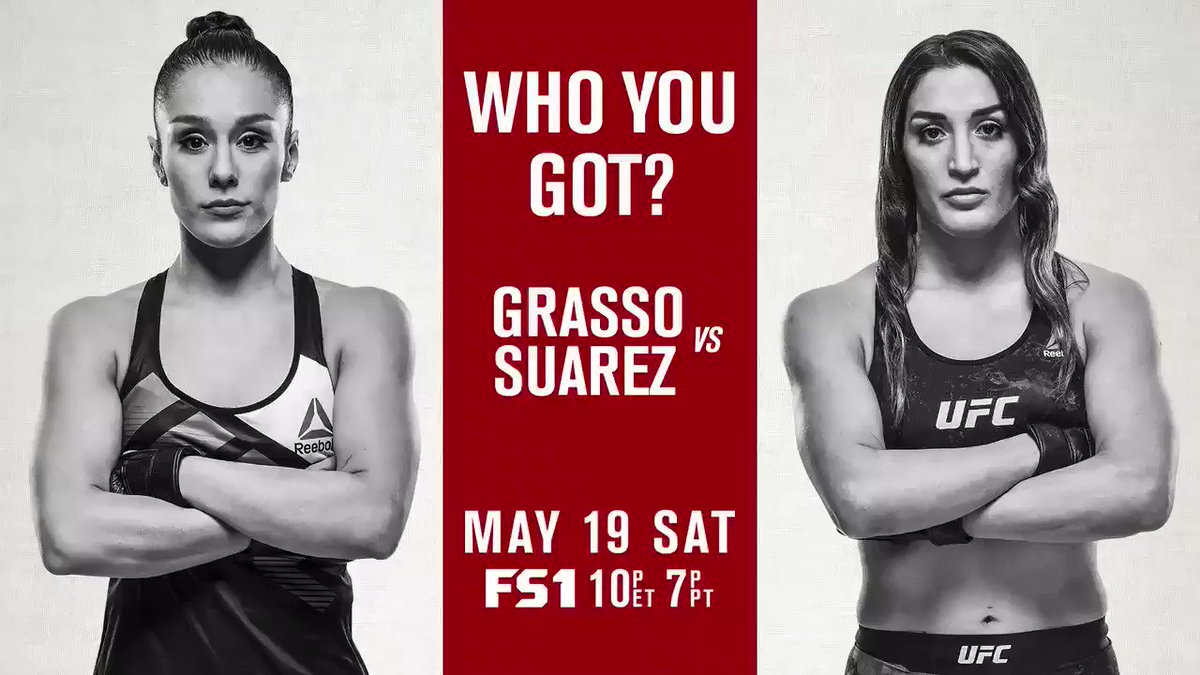 Who u got?! Grasso vs Suarez LIVE and FREE on @FS1!!!