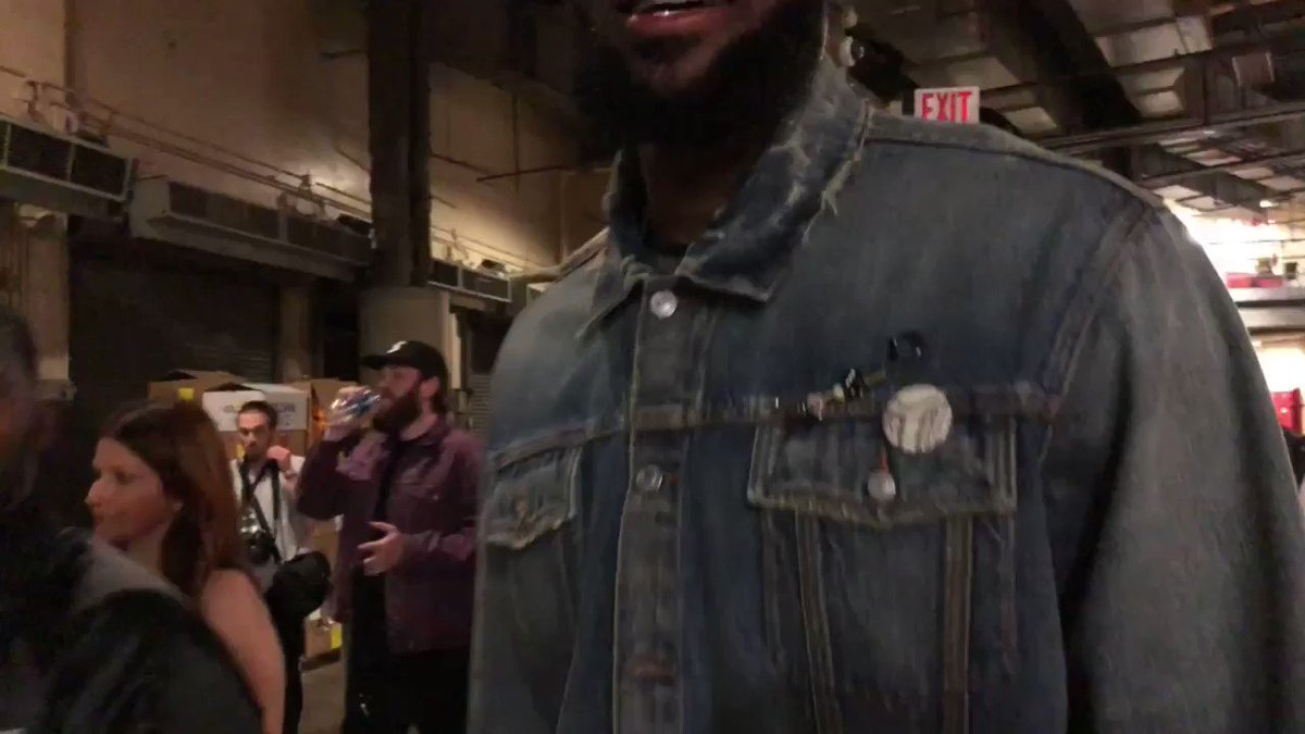 LeBron James & Tristan Thompson walk out with @Cavs 116-86 W!  #WhateverItTakes #NBAPostgame https://t.co/tFQFNrNoMS