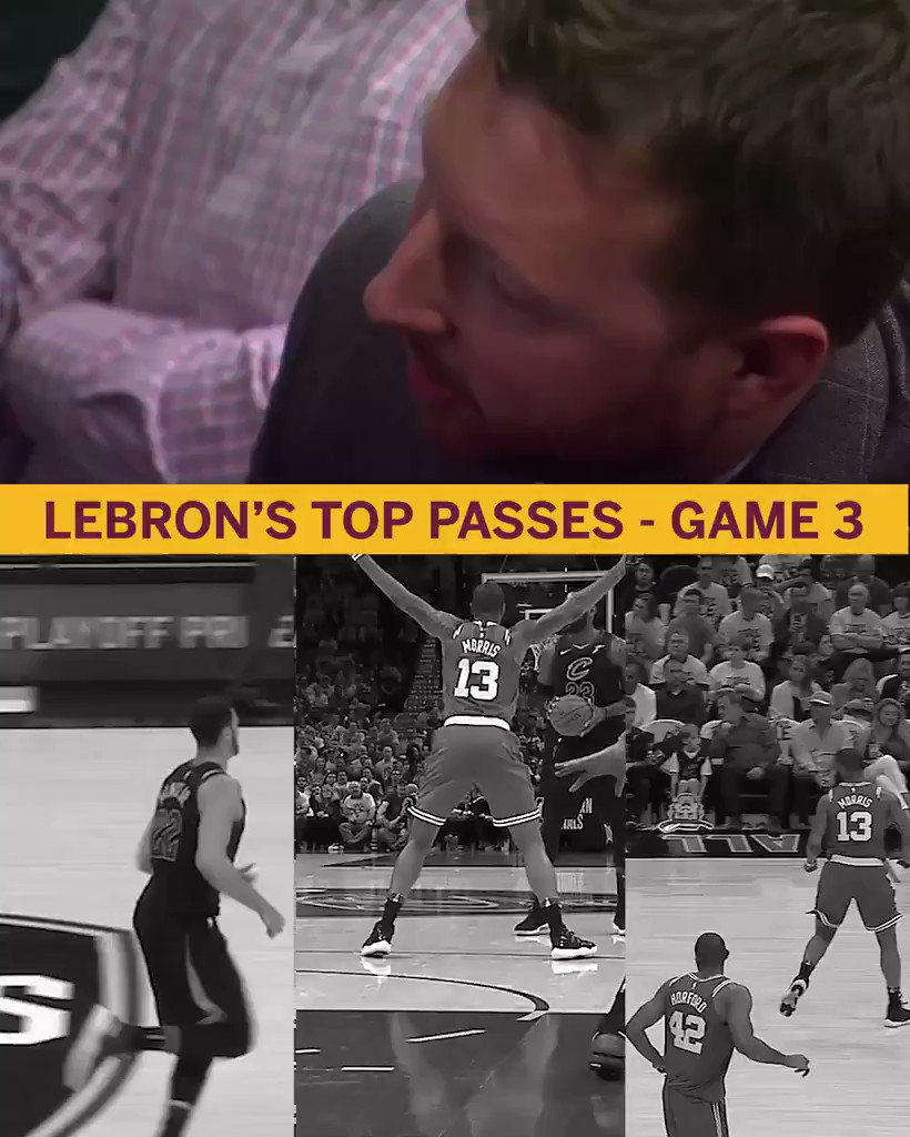 LeBron's memory is still on point. https://t.co/nJuxGqYx5q