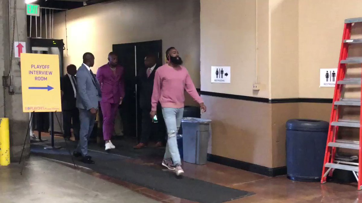PJ Tucker came to the game like a walking Miami Vice remake