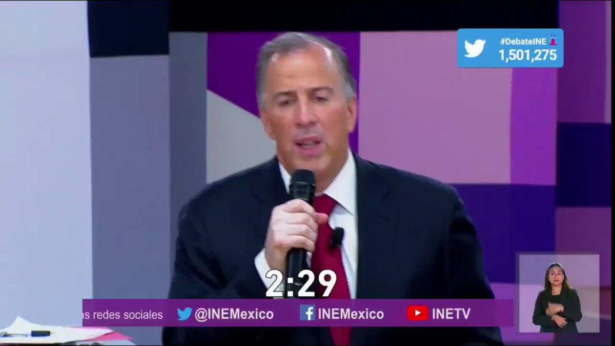 'Tenemos que invertir más en salud para los migrantes':  @JoseAMeadeK en #DebateINE #HoyGanaNuevaAlianzayMeade https://t.co/VFtYME3bjn