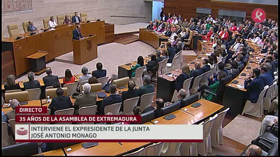 #35AñosAsamblea   José Antonio Monago: