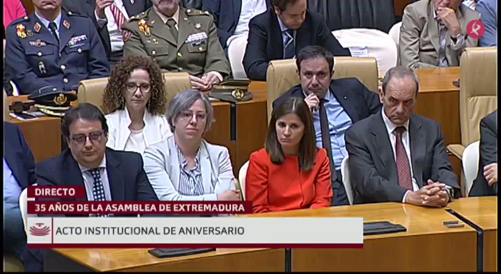 #35AñosAsamblea   Interviene Lara Garlito (@LaraGarlito ), diputada de @psoeex: