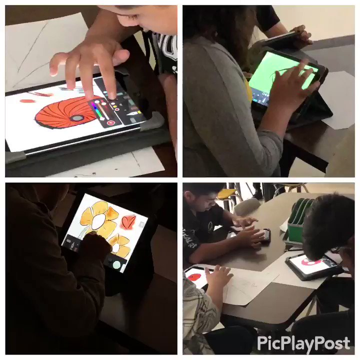Using @FiftyThree to create digital art @NISDJones @NISDAcadTech @NISDTeachLearn #NISDCoach https://t.co/KjHIYIJTrT