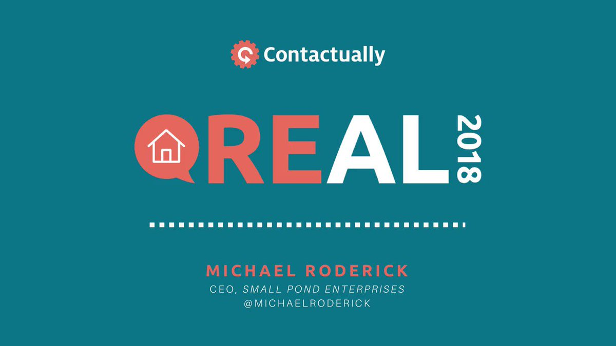 The #direct approach isn't always the best. CEO of @SmallPondEnt, @MichaelRoderick thinks you should take a more tame approach to #networking rather than being direct and bold. #Real2018