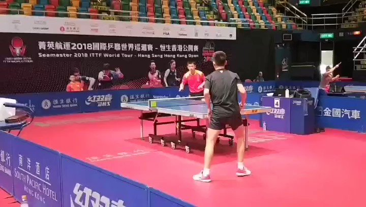 Who's excited to see Zhang Jike back at the table?? 🤩 #ITTFWorldTour #2018HKGOpen 📺 tv.ITTF.com