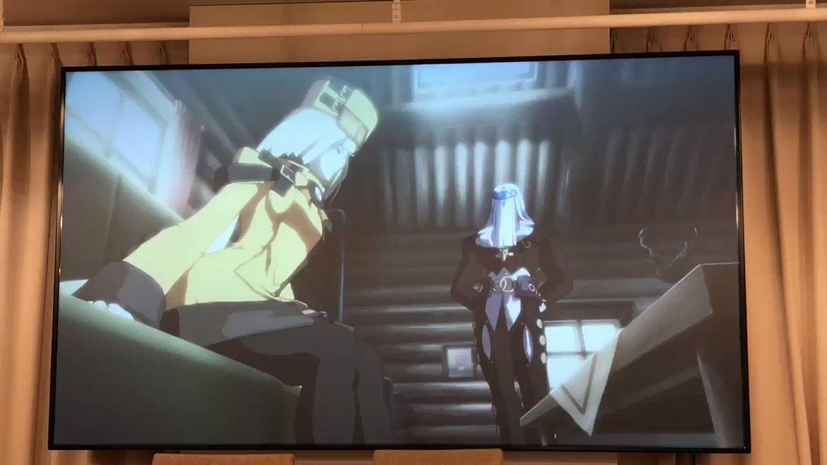 Let's Rock‼️  池袋西口のタイトーステーション6F STORIA [ギルティギア&ブレイブルー] コラボカフェに行ってきた〜\(^o^)/  ㊗️20周年
