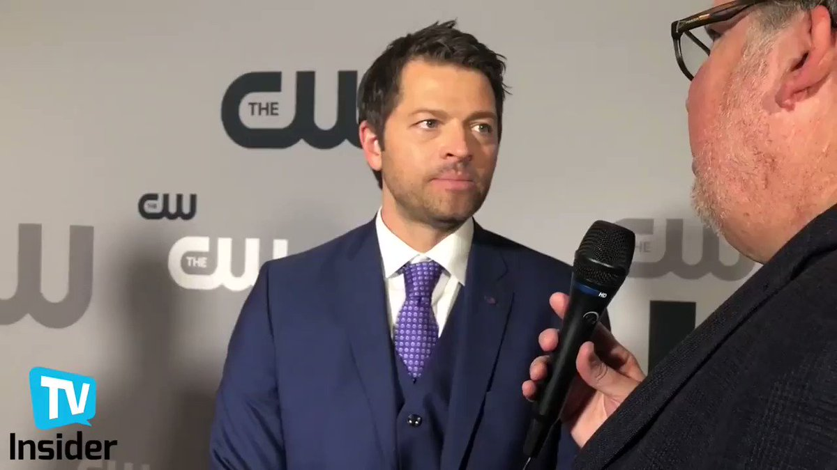 .@mishacollins on his hopes for S14 regarding Cas and the Scooby-Doo episode #CWUpfront