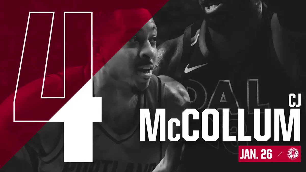 Number 4 assist of the year goes to @CJMcCollum, complete with an honorable mention dunk from @eddavisXVII.