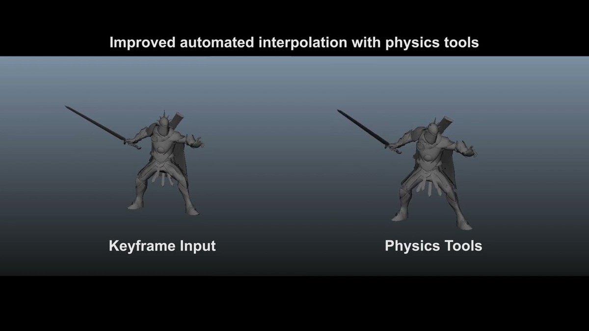 アニメーションに自然さを!!物理演算系Mayaプラグイン「Physics Tools for Maya」が素晴らしい!!