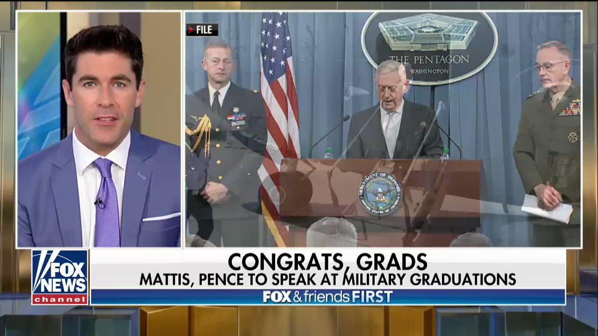 Mattis, Pence to speak at military graduations https://t.co/mLUKevjyPS