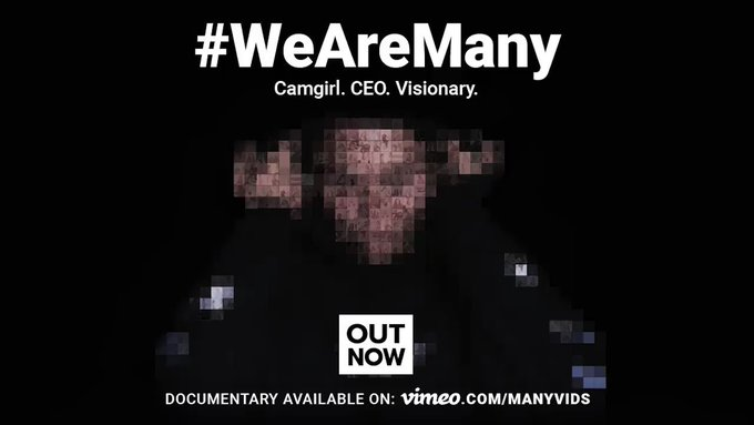 OUT NOW! An MV Documentary: Camgirl. CEO. Visionary. Watch here: https://t.co/TAE5emO1Ut #WeAreMany https://t