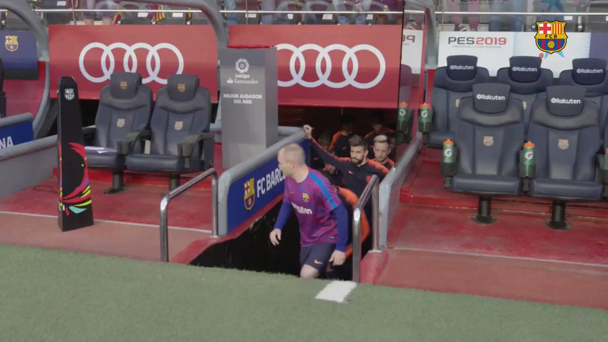 A 674th, and final, game for Barça. ⚽️ ���� #Infinit8Iniesta https://t.co/THgE9eArgv
