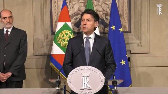 Top Tweets Italy 24-May-2018