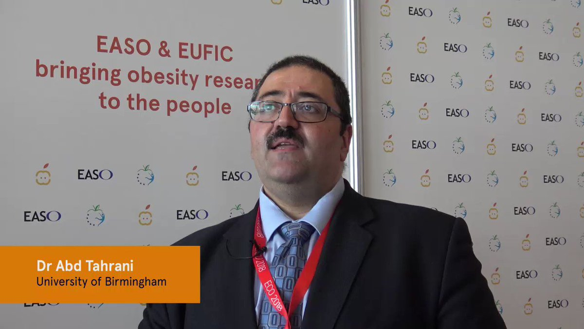 Abd Tahrani On Twitter Thank You EUFIC For The Interview Obesity ECO2018 Obsmuk IMSR UoB WiebkeArlt