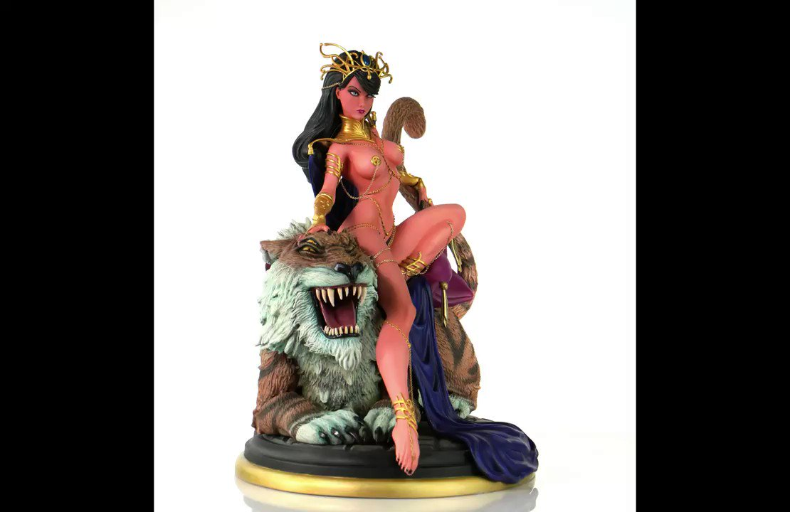 Only 29 hours left to get the @JScottCampbell Dejah Thoris at its lowest possible price! It's fully FUNDED! No reason not to pre-order! #Kickstarter kck.st/2GCWKnm