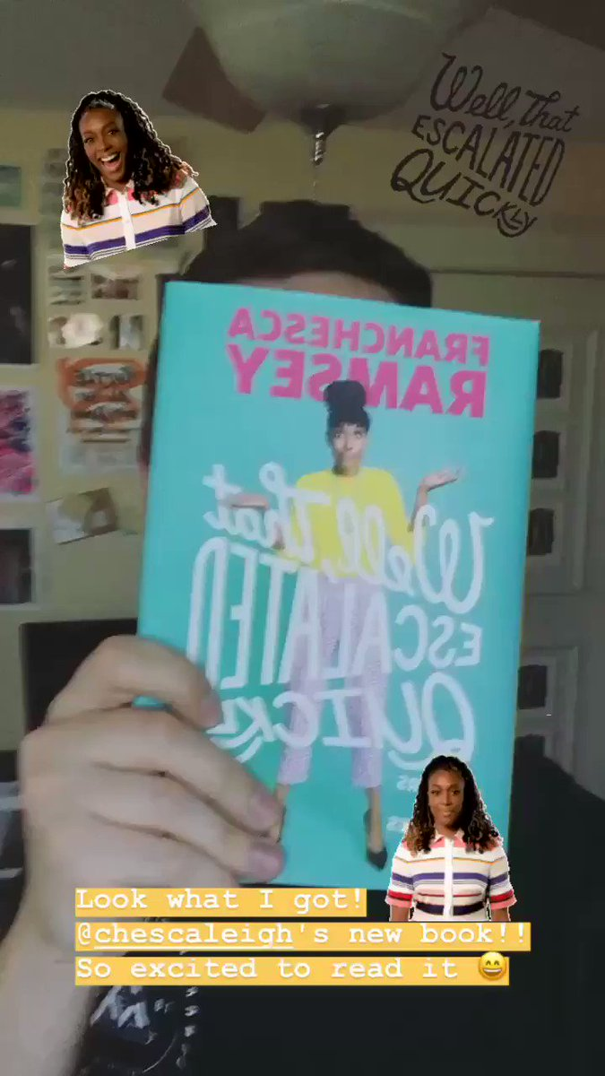 I knew I was gonna love this book, but on page 8 she mentions the criminally underrated Beyonce bop Countdown and its clear were in good hands   Congrats @chescaleigh!! #WTEQbook