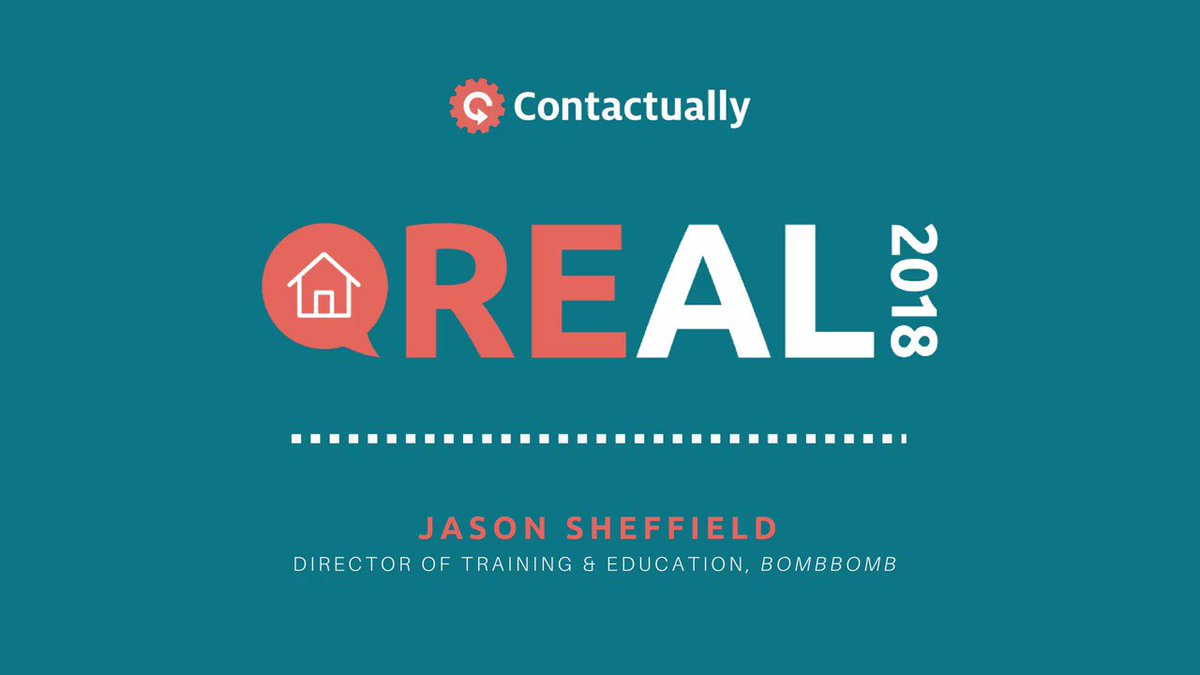 What category of #technology are you missing? Jason Sheffield, Director of Training & Education at @BombBomb, goes over the basics of what kind of tech you'll need in order to be #successful in the #realestate industry #Real2018