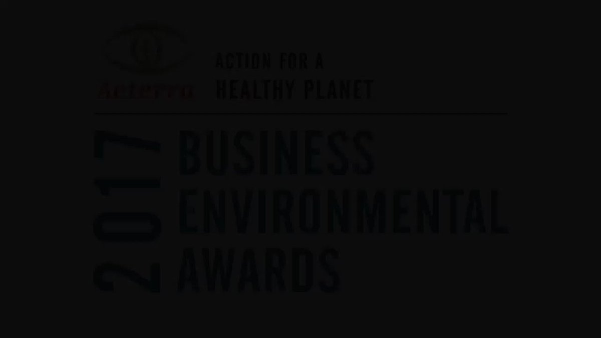 Image for the Tweet beginning: The 2018 Business Environmental Awards