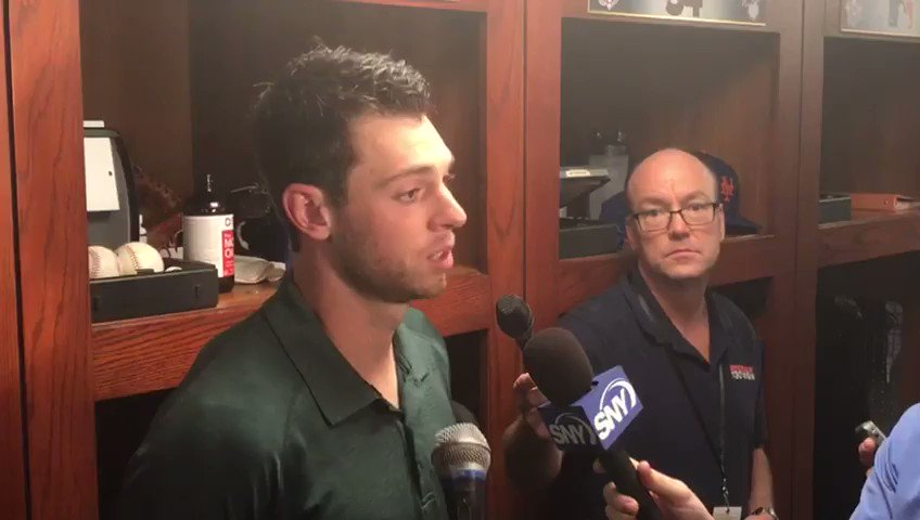 .@Smatz88 says more opportunities to zero in on his off days is paying dividends. #MetsWin https://t.co/71In5p1uy8