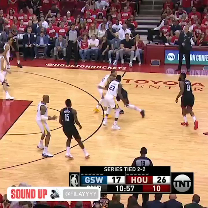 Harden got Draymond again, then got Steph �� https://t.co/BPNk5waq1T
