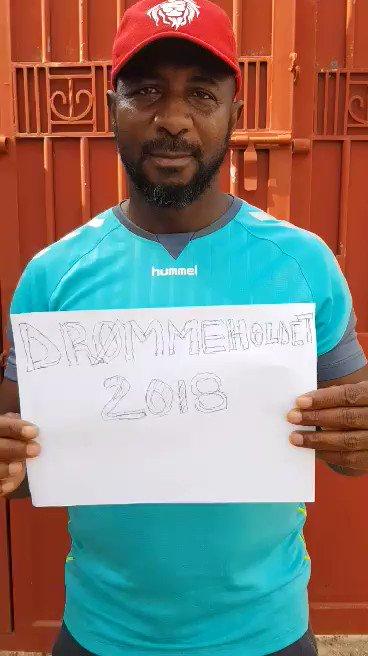 Tak for jeres fornemme modtagelse af Søren Colding-sangen. Abdul Sule har sendt en hilsen fra Nigeria. Han støtter også #drømmeholdet #vmdk #sldk https://www.youtube.com/watch?v=lI8sON34HvU&t=9s…