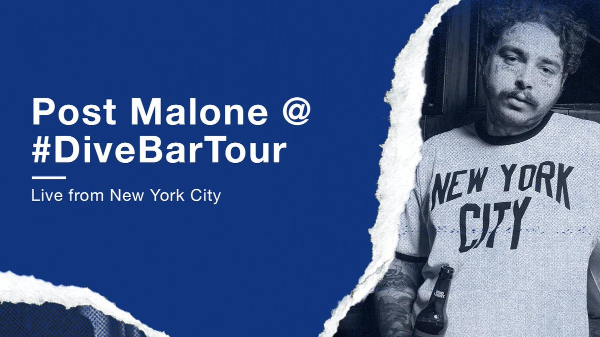 Bud Light Dive Bar Tour with Post Malone