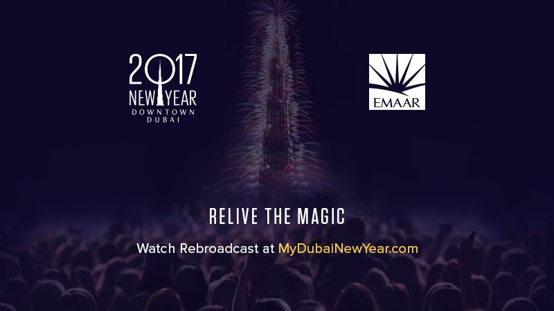 Photo published for Dubai New Year's Eve