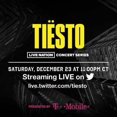 Tiesto in Concert on FREECABLE TV