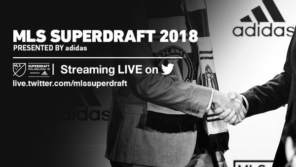 MLS SuperDraft 2018 presented by adidas on FREECABLE TV