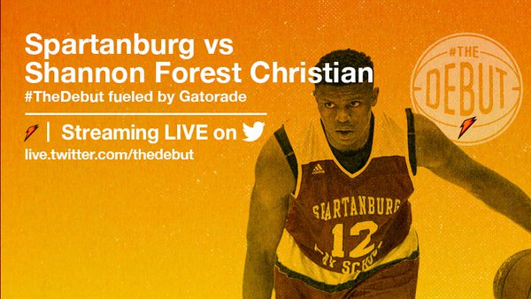 #TheDebut: Spartanburg vs. Shannon Forest Christian on FREECABLE TV