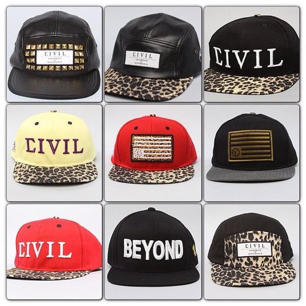 63e30cf3efb  CIVIL  Hats  LeopordHat  SnapBack  StudsHat  CivilHat  BeyondHat   RebelFlagHat - WHICH HAT   Karmaloop.com Spre...pic.twitter.com gwxwURMf