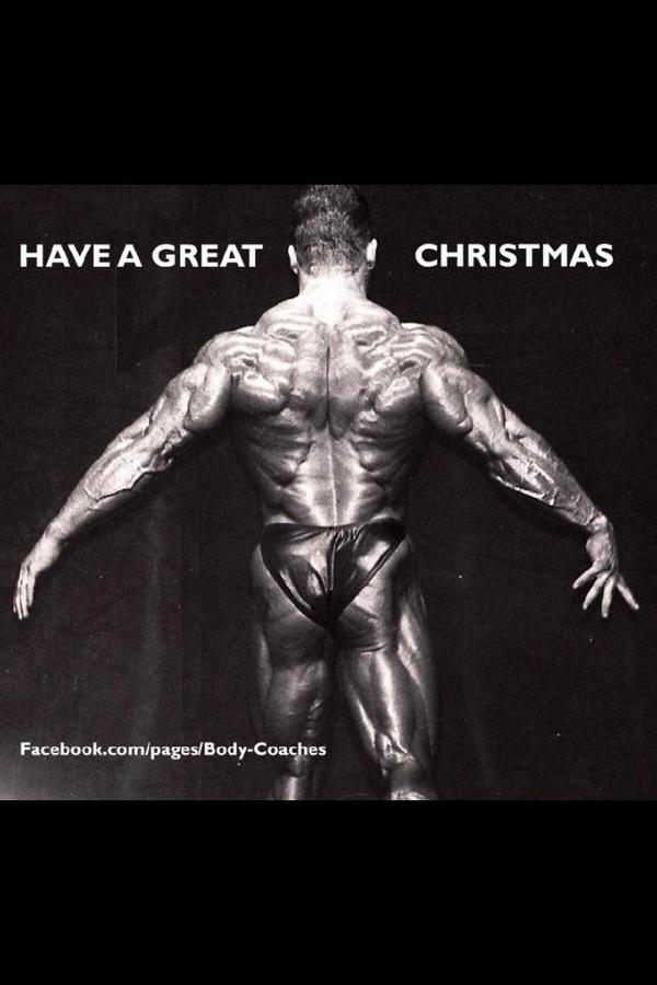 Dorian Yates On Twitter Man Made Christmas Tree Httptco