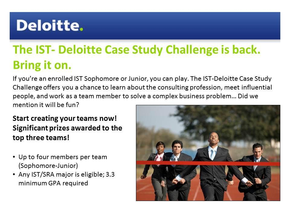 deloitte case study interview consulting Case interview training agenda objectives what is consulting who is deloitte case interview preparation what is a case interview and what do deloitte case study.