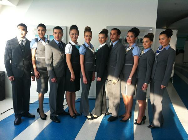 Работа стюардессой в Казахстане