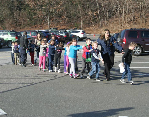 RT @News10_CA: State police lead children from school in Newtown, Conn. where shooting was reported. #ctshooting http://www.news10.net/news/national/221058/5/School-shooting-reported-in-Newtown-Conn http://pic.twitter.com/q7DgNwJt