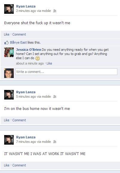 E se a CNN e a Internet não tiverem errado no perfil do Facebook de Ryan Lanza? E se o erro foi de quem disse que erraram?